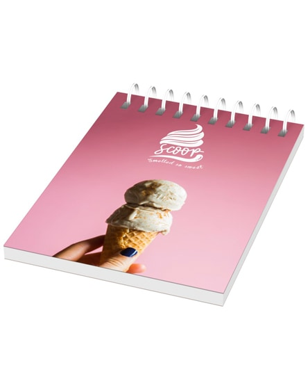 branded desk-mate wire-o a7 notebook pp cover