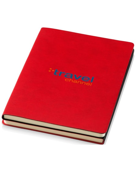 branded doppio a5 soft cover notebook