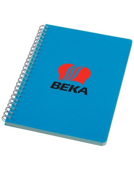 branded happy-colours large spiral notebook