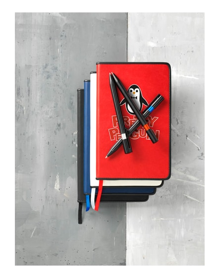 branded lincoln notebook