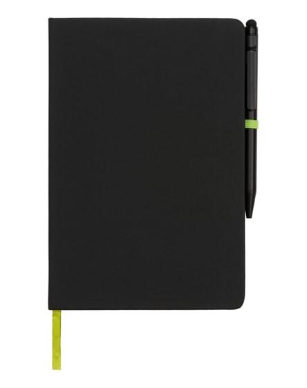branded noir edge medium notebook