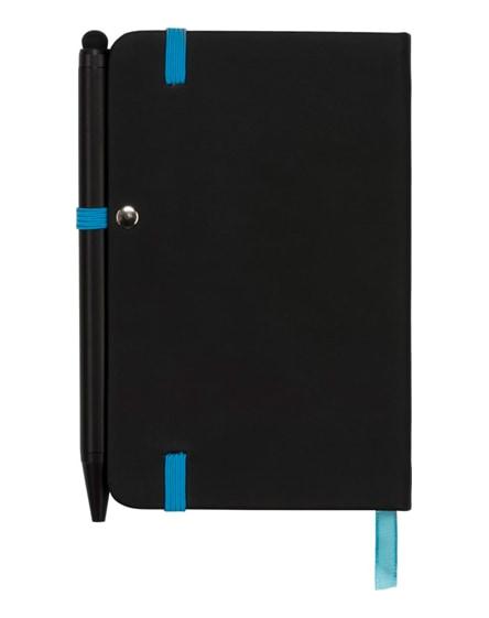 branded noir edge small notebook