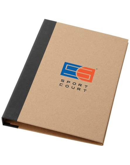 branded ranger cardboard portfolio with a5 notepad