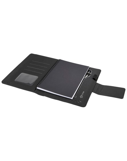 branded scx.design o16 a5 light-up notebook powerbank
