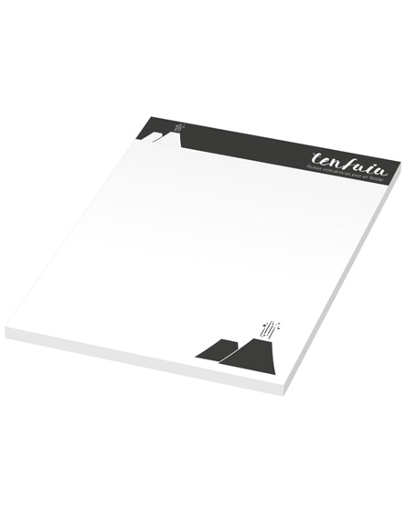 branded budget a6 scribble note