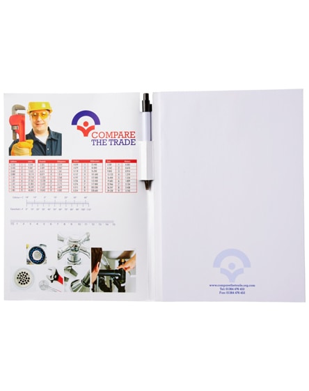 branded essential conference pack a4 notepad and pen