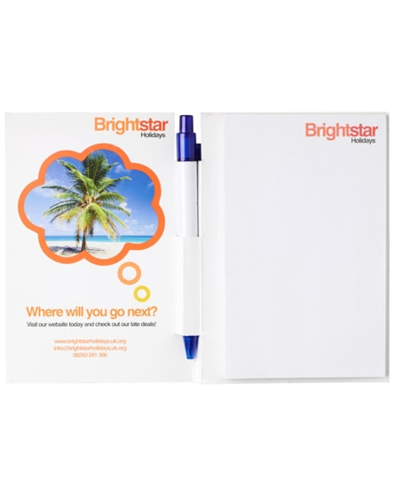 branded essential conference pack a5 notepad and pen