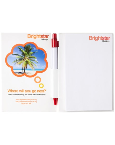 branded essential conference pack a6 notepad and pen