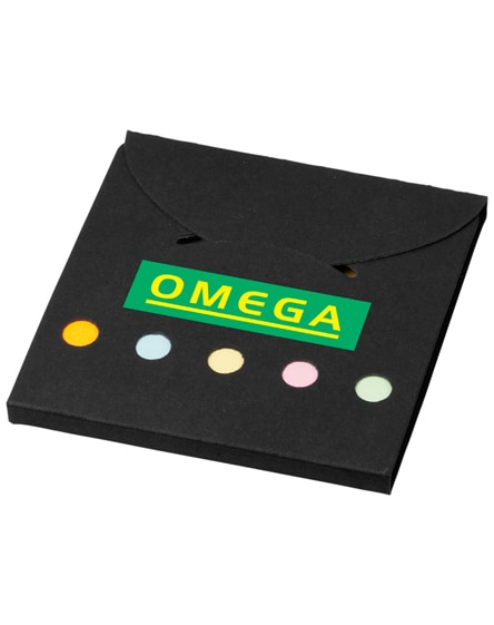 branded deluxe coloured sticky notes set