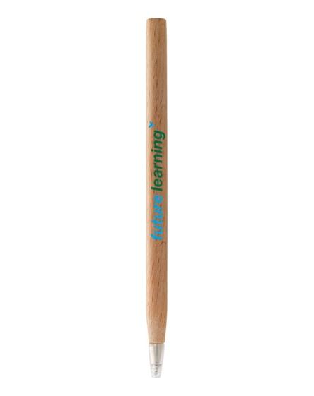 branded arica wooden ballpoint pen