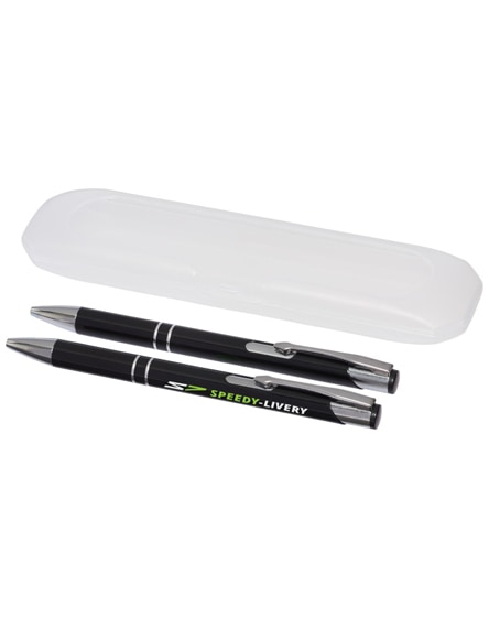 branded belfast writing set
