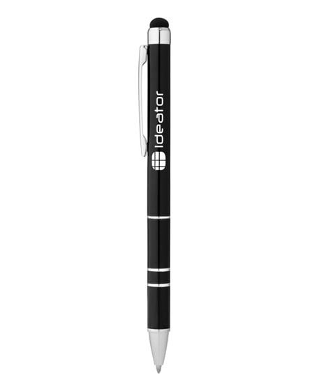 branded charleston aluminium stylus ballpoint pen