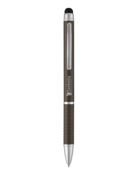 branded iris dual-ink stylus ballpoint pen
