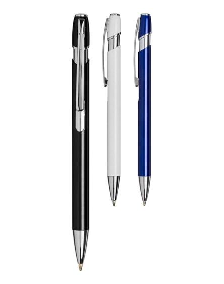 branded milan ballpoint pen-bk