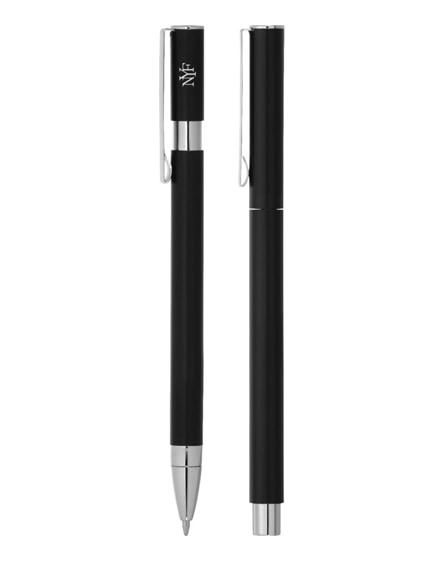 branded oval ballpoint pen set