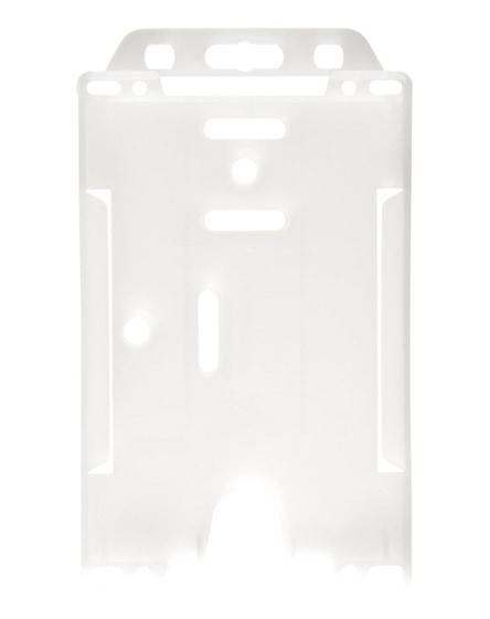 branded pierre transparent badge holder