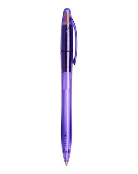 branded sprint ballpoint pen with highlighter