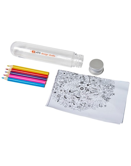 branded cami mini doodling set in tube
