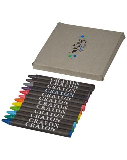 branded eon 12-piece crayon set