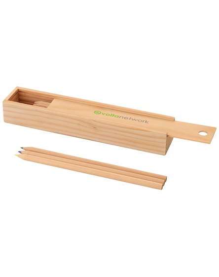 branded pines 12-piece, woooden pencil set