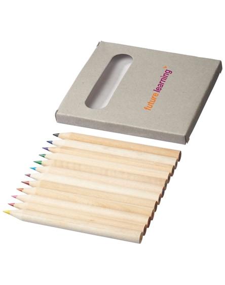 branded tallin 12-piece coloured pencil set