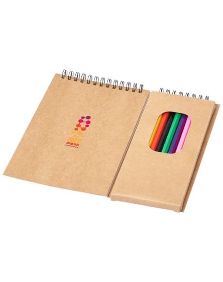 branded vincent colouring set