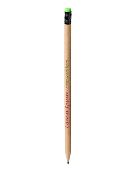 branded asilah recycled paper pencil