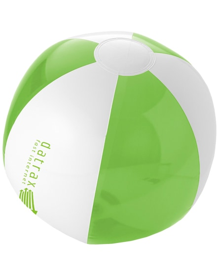 branded bondi solid and transparent beach ball