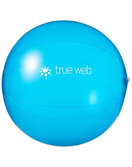 branded ibiza transparent beach ball