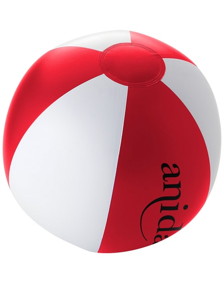 branded palma solid beach ball