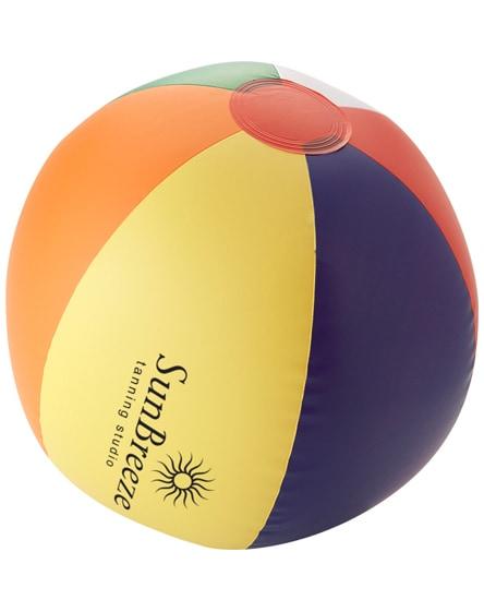 branded rainbow solid beach ball