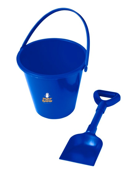 branded finn beach bucket and spade
