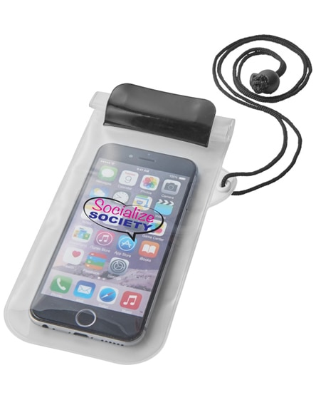branded mambo waterproof smartphone storage pouch
