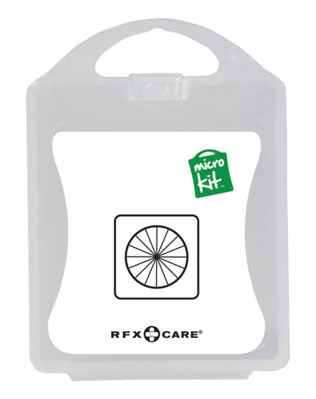 branded microkit bike repair set