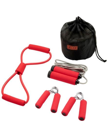 branded dwayne fitness set