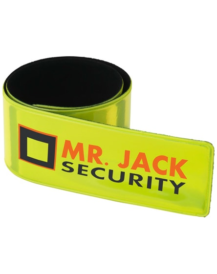 branded hitz reflective safety slap wrap