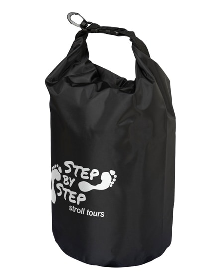 branded survivor 5 litre waterproof roll-down bag