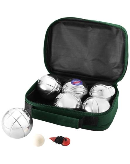 branded henri 6-ball petanque set