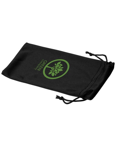 branded clean microfibre pouch for sunglasses