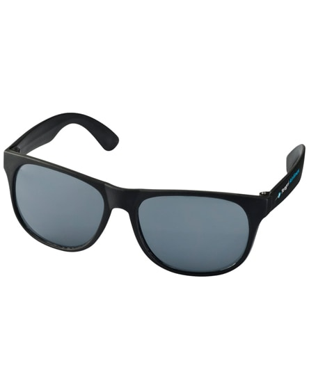 branded retro duo-tone sunglasses