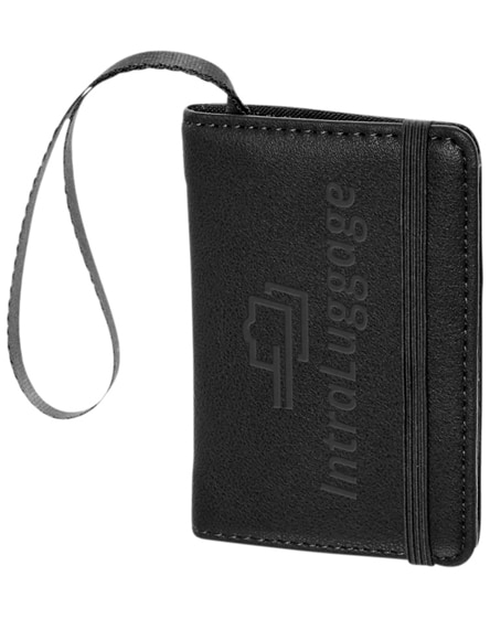 branded classic luggage tag