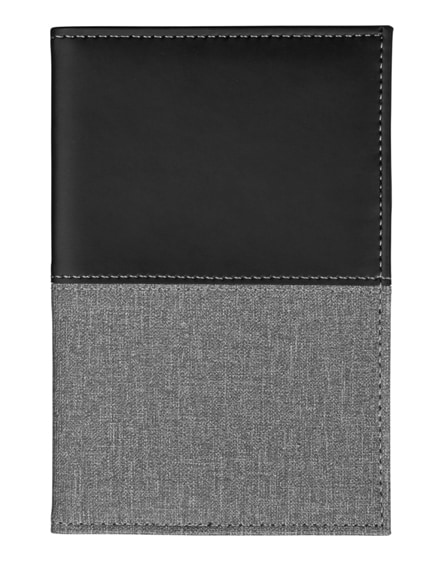 branded heathered passport cover