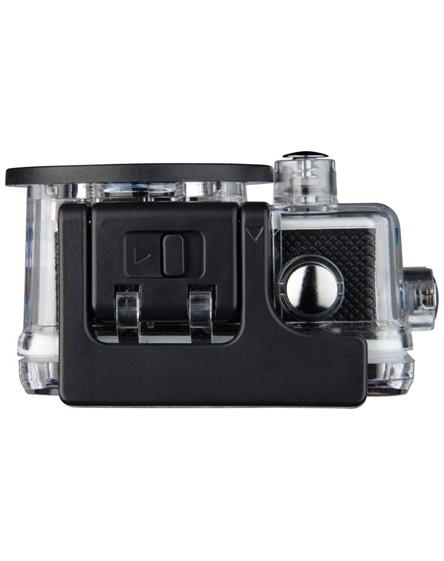 branded prixton dv609 action camera & accessories in case