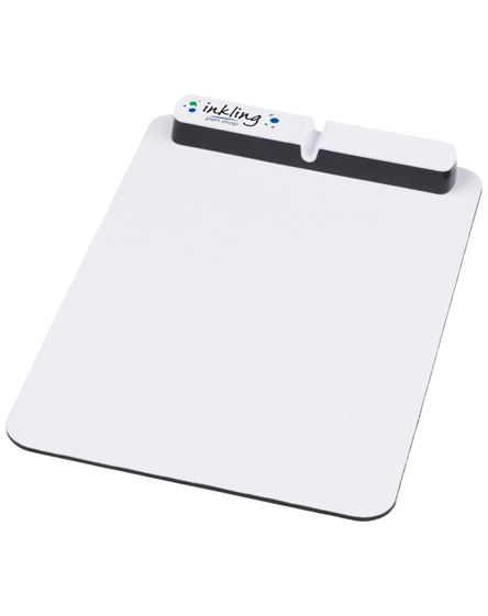 branded cache mouse pad with usb hub