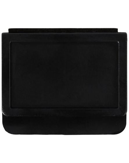 branded clip-on webcam blocker with screen cleaner
