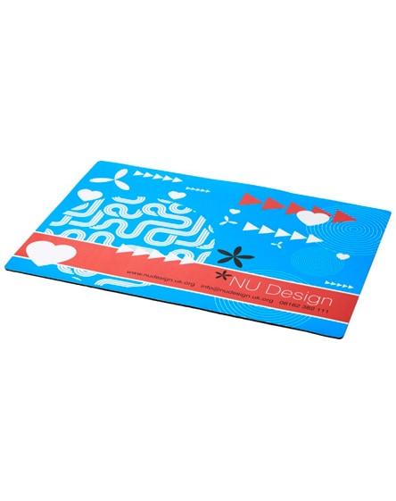 branded q-mat a4 sized counter mat