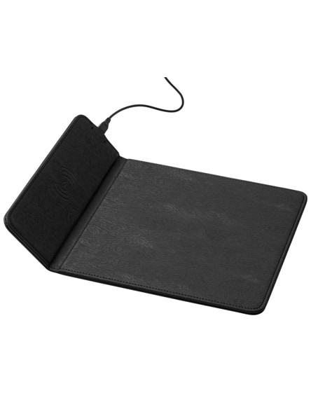 branded rodent wireless charging mouse pad