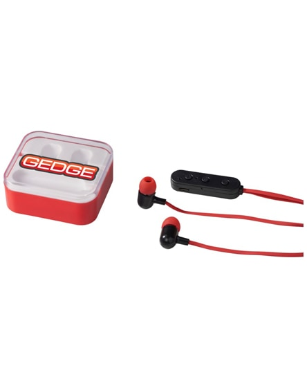 branded colour-pop bluetooth earbuds