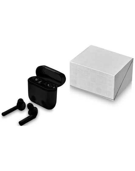 branded essos true wireless auto pair earbuds with case