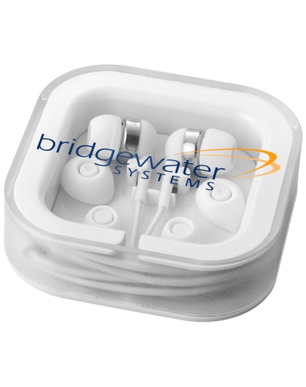 branded sargas earbuds with microphone